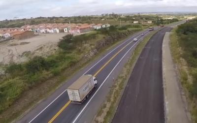 VIABAHIA prossegue com obras de duplicação na região de Antônio Cardoso