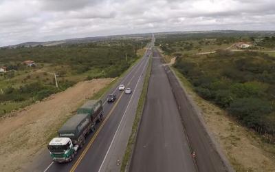 VIABAHIA reinicia obras em mais um trecho da duplicação na região de Santo Estevão
