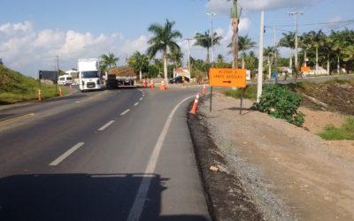 Obras de duplicação executadas pela VIABAHIA avançam para segunda etapa na região de Santo Estevão